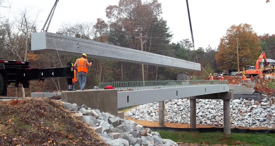 Eastern Vault Bridge beam